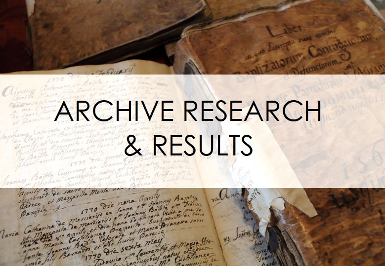 genealogy research north italy